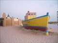 Image for Fishing boat by the beach, Cape Verde