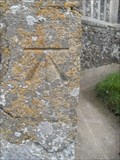 Image for Cut-mark, St Mary's Church, Earl Stonham, Suffolk, IP14 5EE