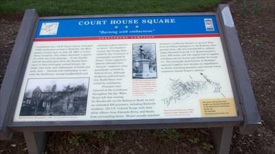 Part of the Civil War Trails series.