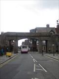 Image for City Walls Bridge, Northgate Street, Chester, Cheshire, England, UK