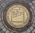 Image for 'KaWu' Manhole Cover Marktplatz Reutlingen, Germany, BW