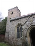 Image for Bell Tower, Church of Llansaintfraid Glyn Ceiriog, Llangollen, Wrexham, Wales, UK