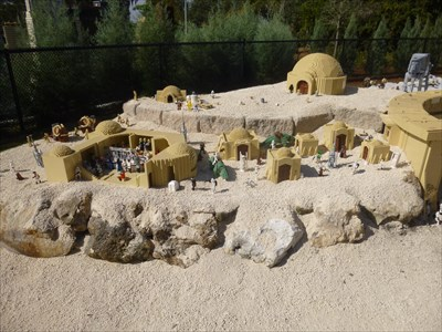 Tatoonie - Star Wars - Legoland Florida. USA.