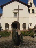 Image for Mission San Juan Bautista cross- San Juan Bautista, CA