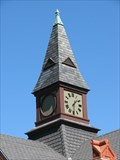 Image for Former Providence and Worcester Railroad Depot  Clock- Woonsocket, Rhode Island
