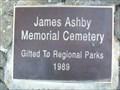 Image for James Ashby Memorial Cemetery - Tapapakanga, North Island New Zealand