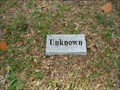 Image for Gravely Hill Cemetery Unknown #1 - Jacksonville, FL, US