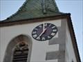 Image for Clock of Martinskirche - Kilchberg, Germany, BW