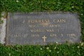 Image for J. Forrest Cain, East Aurora, NY
