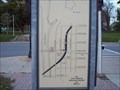 Image for The O&W Railroad - You Are Here Map - Oswego, NY