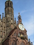 Image for Clock on Frauenkirche Nurnberg, Germany