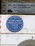 Image for Victor Andrew D'Biere McLaglen - Commercial Road, London, UK