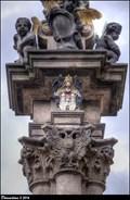 Image for CoA of the New Town of Prague on Plague Column / Znak Nového mesta pražského na morovém sloupu - Karlovo námestí (Prague)