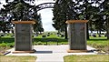 Image for Carstairs Cemetery Columbarium Arch - Carstairs, AB