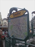 Image for Station de Metro Blanche - Paris, France