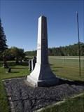 Image for Brant-Argyle Cemetery War Memorial - Argyle MB