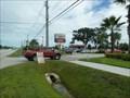 Image for Suburban Time & Temp Sign - Stuart,FL