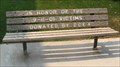 Image for 9/11 Bench - Colusa, CA