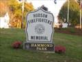 Image for Hudson Firefighters Memorial - Hammond Park - Hudson, NH
