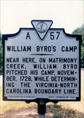 Image for William Byrd's Camp