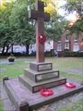 Image for Cross Monument, St Mary's Church, St Mary's Street, Shrewsbury, Shropshire, England, UK