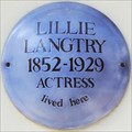 Image for Lillie Langtry - Wilton Place, London, UK