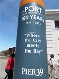 Image for 150th Anniversary of the Port of San Francisco  -  San Francisco, CA