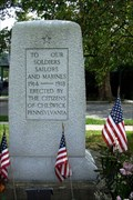 Image for Cheswick World War I Memorial - Cheswick, Pennsylvania