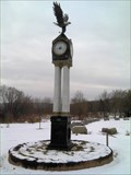 Image for First Responders Park Clock - Belmont, NY