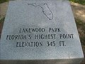 Image for Highest Point in Florida