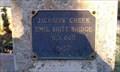 Image for Jackson Creek Emil Britt Bridge No. 660 - 1957 - Jacksonville, OR