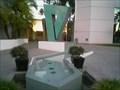 "Image for San Diego, CA: Strange green ""art"" in RB"