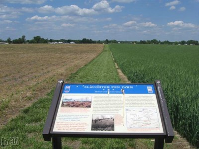 The Union troops were forced to retreat back from the railroad. They mounted 3 counterattacks, but failed.
