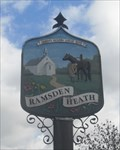 Image for Ramsden Heath Village Sign, The Green, Downham Road, Ramsden Heath, Essex.