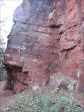 Image for Nesscliffe Cliff Faces, Iron Age Hill Fort, Nesscliffe, Shrewsbury, Shropshire, England, UK