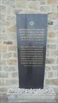 Image for Gedenktafel der Israelitischen Kultusgemeinde Wien - Mauthausen, OÖ, Austria