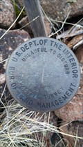 Image for USDOI/BLM T39S R13E 1/4 S1 S2 Cadastral Survey Disk - Klamath County, OR