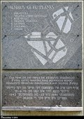 Image for Vilnius Ghetto Memorial Tablet in Rudninku street - Vilnius (Lithuania)