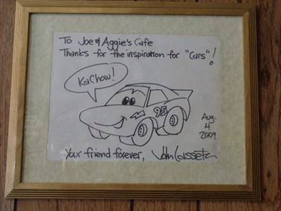 Joe & Aggies Café - Historic Eats - Holbrook, Arizona, USA.