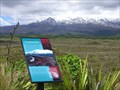 Image for Ruapehu Lahar Landscape. Mt Ruapehu. New Zealand.
