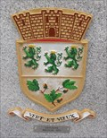 Image for Verviers Town Coat of Arms on Sister City Bench – Bradford, UK