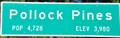 Image for Pollock Pines, California ~ Population 4728