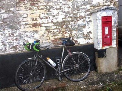Queens Arms Victorian Post Box