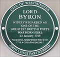 Image for Lord Byron - Holles Street, London, UK