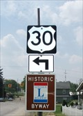 Image for Lincoln Highway Marker, Cedar & Walnut  - East Canton, OH