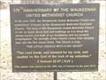 Image for 175th Anniversary of the Waukeenah United Methodist Church