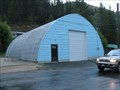 Image for Blue Quonset Hut, Mullan, Idaho