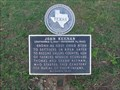 Image for John Keenan - FIRST Settler Child Born in Dallas County - Farmers Branch, TX