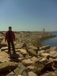 Une bien belle vue et en plus aujourd'hui le fleuve est calme !!!! A+ Linus Blue