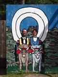 Image for Wagon Cutout - at Wilderness Walk - Hayward, Wisconsin